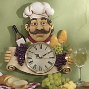 Abundant Chef Clock