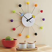 Retro Ball Wall Clock