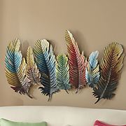 Fanciful Feathers Wall Art