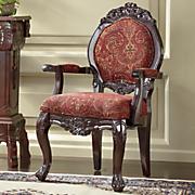breanna hand carved chair