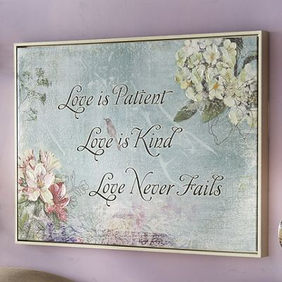 Love Is Patient Wall Art