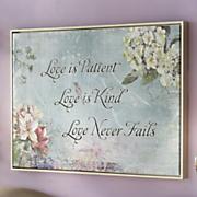 love is patient wall art 10