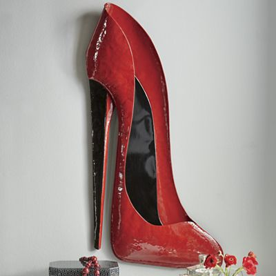 Red Stiletto Wall Art