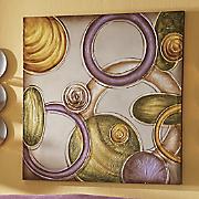 Dancing Circles Canvas Print