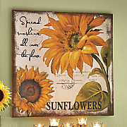 spread sunshine wall decor