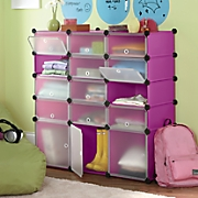 15-Cubby Cabinet