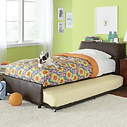 twin sized storage   trundle bed