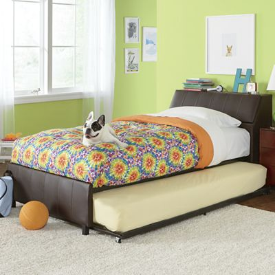 Twin-Sized Storage & Trundle Bed
