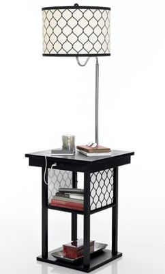 Charging Table with Lamp
