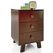3 drawer nightstand 128