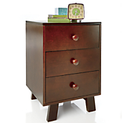 3 drawer nightstand 128