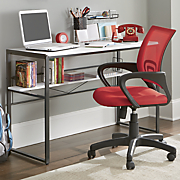 black   white maxson desk