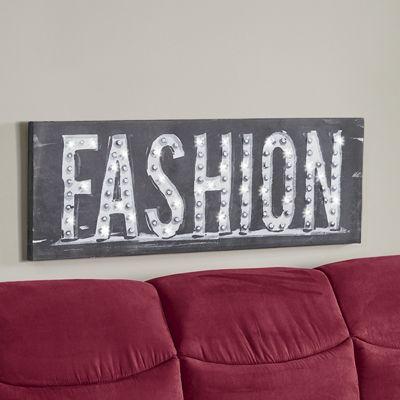 Fashion LED Canvas