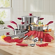 22-Piece Cookware and Utensil Set