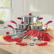 22 pc  cookware and utensil set