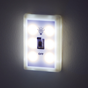 set of 2 led lightswitch night lights