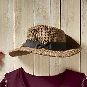 woven yarn fedora