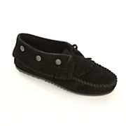 fringed moccasin by minnetonka