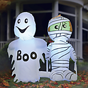 trick or treaters inflatable