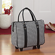 classic houndstooth carry on