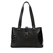 remi leather tote by marc chantal