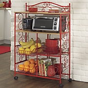 rolling kitchen cart