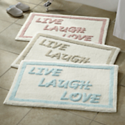 alfombra de baño de inspiración