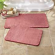 spa velvet 2 pc  bath mat set