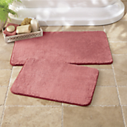 spa velvet 2 pc  bath mat set