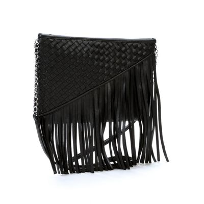 Fringe Weave Cross-Body