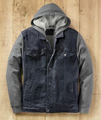 Men's Rugged Warmth Denim Jacket