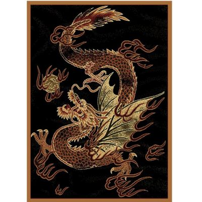 "Dragon Luck Rug - 5' 3"" X 7' 2"""