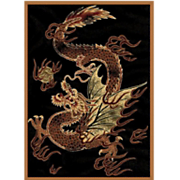 dragon luck rug   5  3  x 7  2