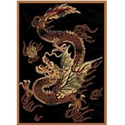 """Dragon Luck Rug - 5' 3"""" X 7' 2"""""""