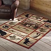 lodge river rug