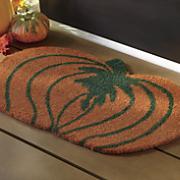 pumpkin coir mat   1  6  x 2  6