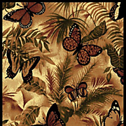 Butterfly Jungle Rug