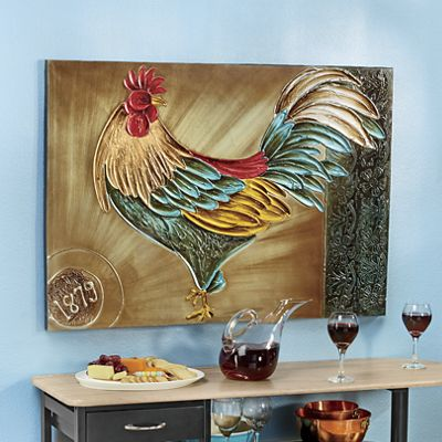 Royal Rooster Wall Art