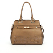 emma laser cut satchel by marc chantal