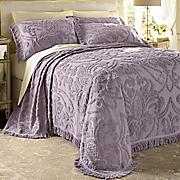 Monte Carlo Chenille Bedspread and Sham