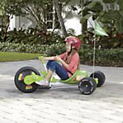 green stunt wheelie