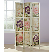 floral room screen
