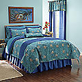 Embroidered Plumes Comforter Set