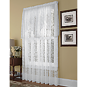 brinley lace panel with swag