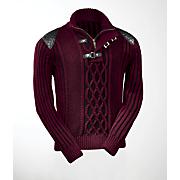 buckle sweater
