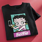 betty boop selfie tee