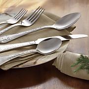 20 pc  whitetail deer flatware set by canterbury