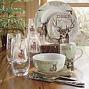 Whitetail Deer Dinnerware by Canterbury