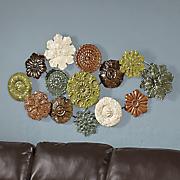fall blossom wall arrangement