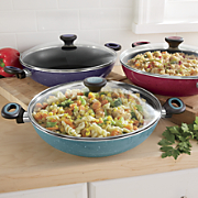 Riverbend Speckled Belly 4-Qt. Everything Pan by Paula Deen